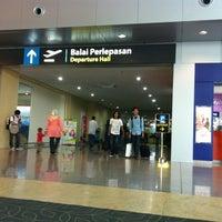 Photo taken at Senai International Airport (JHB) by Mohd F. on 8/17/2012