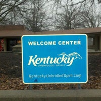 Photo taken at Kentucky Welcome Center by George D. on 2/4/2012