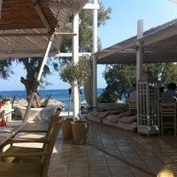 Photo taken at Sea Side by Notos by Nektarios D. on 8/10/2012