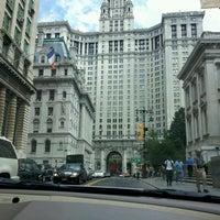 Photo taken at Manhattan Municipal Building by Sakina S. on 7/30/2012