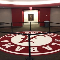 Photo taken at Bryant-Denny Stadium by Darren S. on 2/16/2012