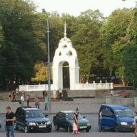 Photo taken at Dzerkalnyi strumin by Екатерина Г. on 5/13/2012