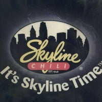 Photo taken at Skyline Chili by Mandy D. on 6/16/2012