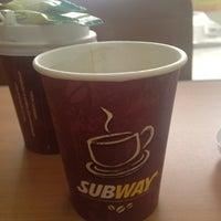 Снимок сделан в Subway пользователем Татьяна В. 4/13/2012