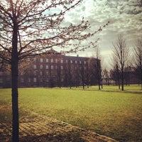 Photo taken at Kasernen, Aarhus Universitet by Birgitte K. on 4/24/2012