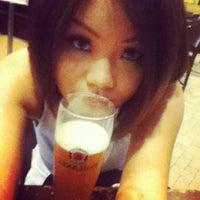 Photo taken at Brotzeit German Bier Bar & Restaurant by Pauline T. on 4/30/2012