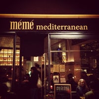 Photo taken at Meme Mediterranean by Zach M. on 5/11/2012