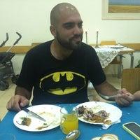 Photo taken at חדר אוכל קיבוץ אורטל by Erez A. on 8/17/2012