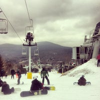 Photo taken at Hunter Mountain Ski Resort by Brian James T. on 2/11/2012
