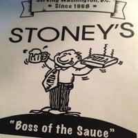 Photo taken at Stoney's Restaurant by Adam C. on 7/21/2012