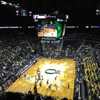 Photo taken at Matthew Knight Arena by Katrina D. on 3/14/2012