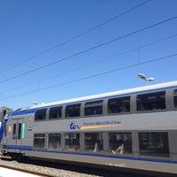 Photo taken at Gare SNCF de Mouans-Sartoux by Filippa L. on 7/30/2012
