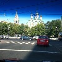 Photo taken at Храм Святителя Николая в Хамовниках by НЮ on 7/9/2012