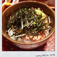 Photo taken at 29酒場 天神 串かっちゃん by arahide on 7/10/2012