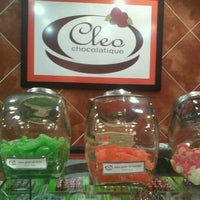 Photo taken at Cleo CHOCOLATIQUÉ by Pia S. on 2/10/2012