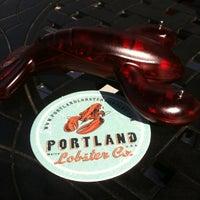 Photo taken at Portland Lobster Company by Emmanuelle on 7/27/2012