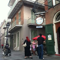 Photo taken at Tony Seville's Pirates Alley Cafe & Old Absinthe House by Stacy F. on 3/18/2012