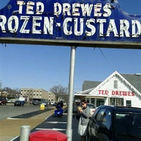 Photo taken at Ted Drewes Frozen Custard by nathan K. on 3/1/2012