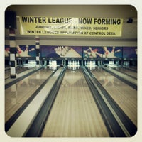 Photo taken at South Levittown Lanes by Julianna T. on 7/20/2012