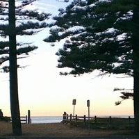 Photo taken at Mona Vale Beach by Nadene W. on 9/3/2012