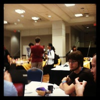Photo taken at Marvin Center by Sebastian W. on 7/15/2012