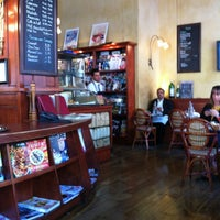Photo taken at Café de la Presse by Lora T. on 6/5/2012