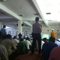 Photo taken at Masjid Jamek Sultan Abdul Aziz by Fash R. on 5/11/2012