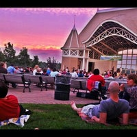 Photo taken at Lake Harriet Band Shell by Aaron G. on 6/16/2012