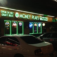 Photo taken at Money Plays by Dan B. on 8/2/2012