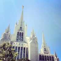 Photo taken at San Diego California Temple by Davy R. on 8/19/2012