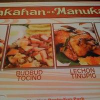 Photo taken at Bakahan At Manukan by Mayfel d. on 3/27/2012