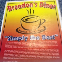 "Photo taken at Brandon's Diner by Jay ""Yep!"" Neezy on 8/23/2012"
