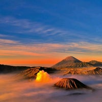 Photo taken at Mount Bromo by Siyn Z. on 4/21/2012
