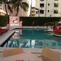 Photo taken at RED South Beach Hotel by Ed G. on 3/1/2012