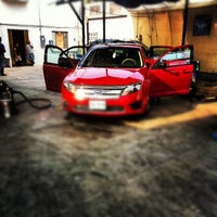 Photo taken at Rasing Car Wash by Gabriel D. on 5/4/2012