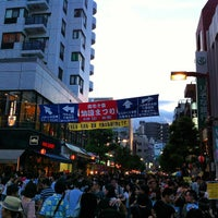 Photo taken at Azabu-juban Station by Dan C. on 8/25/2012