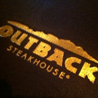 Photo taken at Outback Steakhouse by Jennifer C. on 7/15/2012