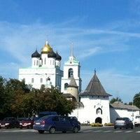 Photo taken at Псков / Pskov by Арсен on 8/21/2012