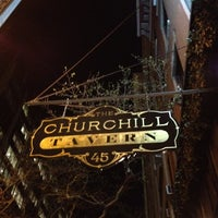 Photo taken at The Churchill by Christine W. on 4/7/2012