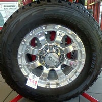 Photo taken at America's Tire Store by DUFFY a. on 6/8/2012