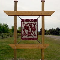Photo taken at Ciccone Vineyard & Winery by Nicholas T. on 5/26/2012