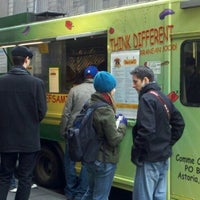 Photo taken at Comme Ci Comme Ça - Chef Samir Truck by Monica S. on 3/2/2012