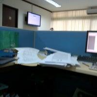 Photo taken at Bank Mandiri by Poe C. on 8/11/2012