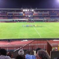 "Photo taken at Stadio Cibali ""Angelo Massimino"" by Davide G. on 8/8/2012"