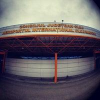 "Photo taken at Cluj-Napoca ""Avram Iancu"" International Airport (CLJ) by Valentin-Narcis S. on 5/26/2012"