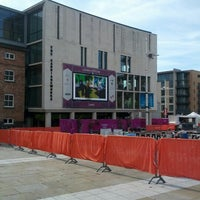 Photo taken at Millennium Square by Ricky H. on 9/1/2012