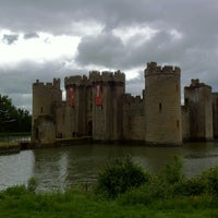 Photo taken at Bodiam Castle by Nick S. on 6/4/2012