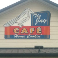 Photo taken at The Jay Cafe by Jillian C. on 7/8/2012