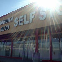 Photo taken at Auburn Blvd Self Storage by ImportHater♎🔭🎱🎺🍻🐾🌅🏁 ♻. on 2/25/2012