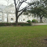 Photo taken at Tulane University by James M. on 2/22/2012